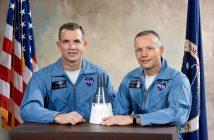 Załoga Gemini 8 - David Scott i Neil Armstrong / Credits - NASA