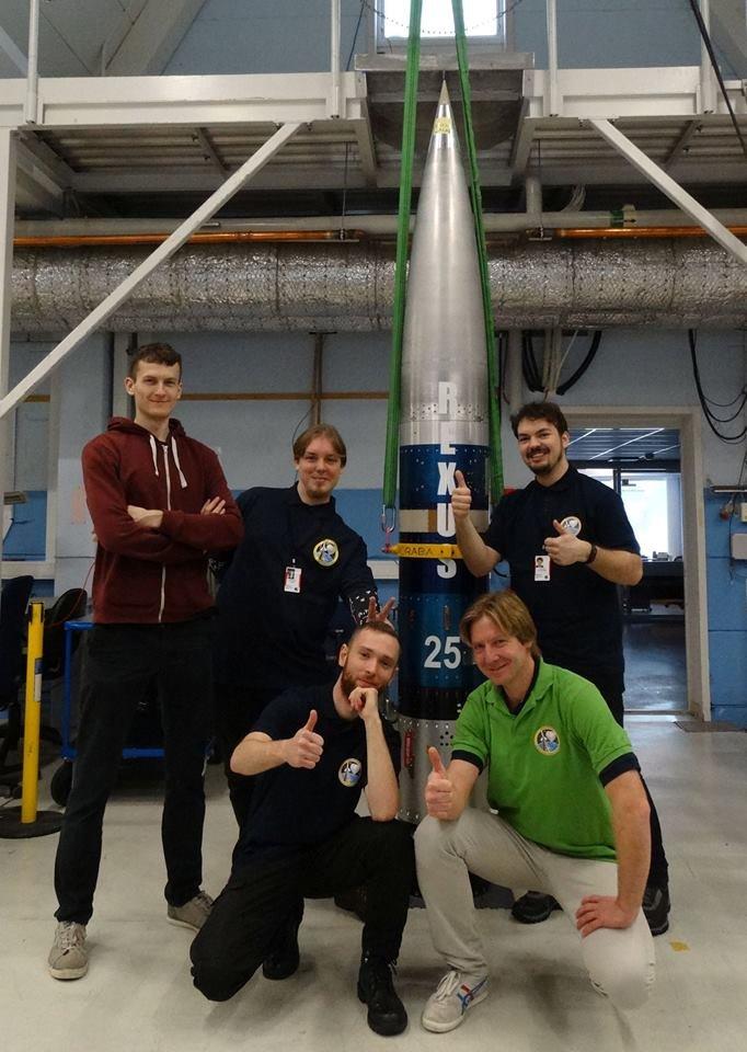 Głowica rakiety sondującej, która wystartuje w ramach REXUS 25 z Jeżem na pokładzie / Credits - zespół HEDGEHOG