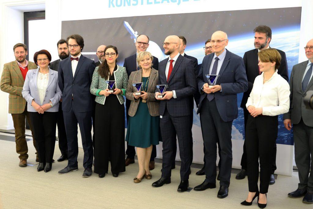 Nagrodzeni - Konstelacje 2018 / Credits - ARP