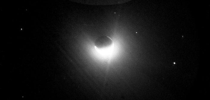 Geokorona widziana z Księżyca / credits: NASA