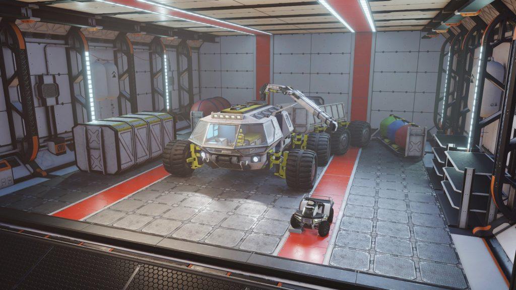 """Ujęcie w grze """"Occupy Mars"""" / Credits - Pyramid Games"""