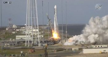 Start rakiety Antares 230 - 17.04.2019 / Credits - NASA TV