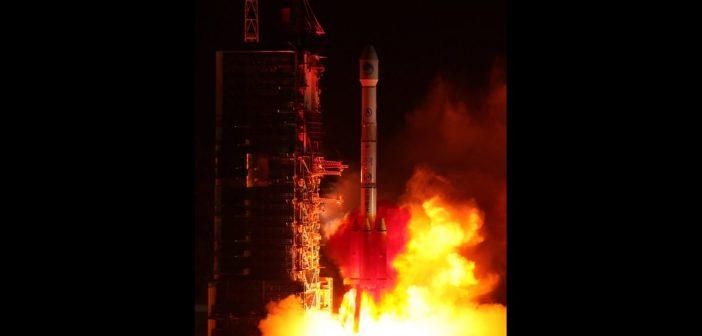 Udany start CZ-3B z Beidou-3 IGSO1