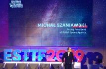 Wystąpienie p.o. Prezesa Polskiej Agencji Kosmicznej na European SpaceTech Transfer Forum / Credits - kosmonauta.net