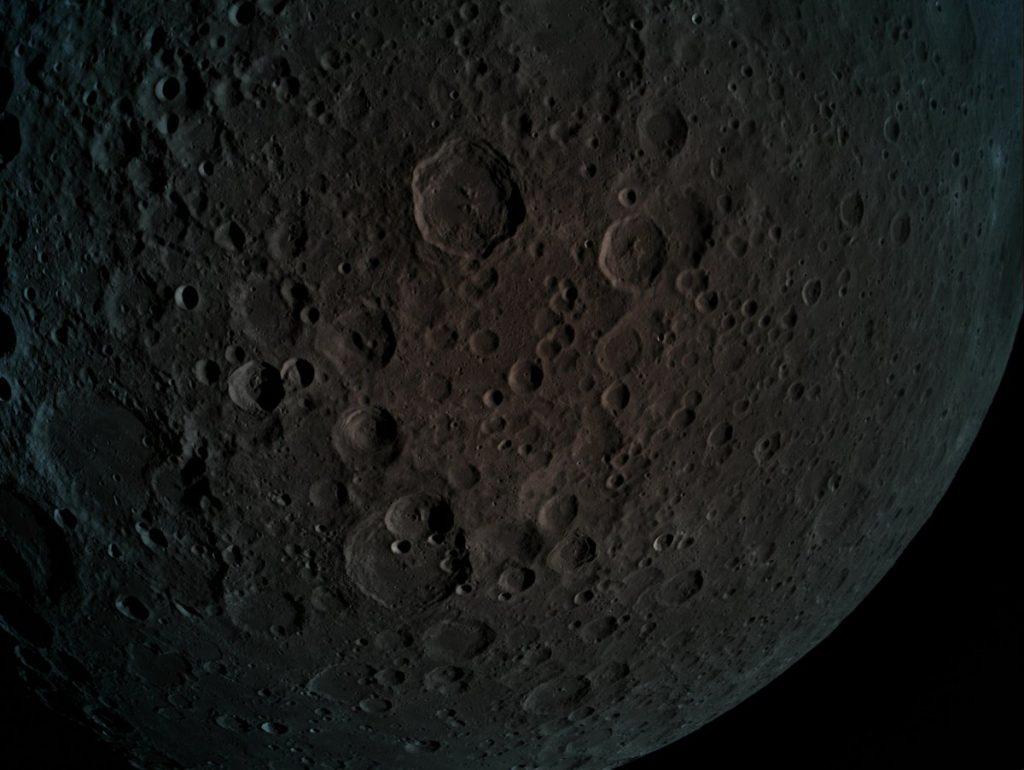Jedno z pierwszych zdjęć wykonanych przez Beresheet po wejściu na orbitę Księżyca / Credits - SpaceIL