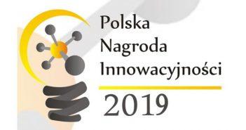 Logo Polskiej Nagrody Innowacyjności 2019 / Credits - Polska Agencja Przedsiębiorczości i Forum Przedsiębiorczości