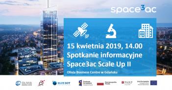 Spotkanie informacyjne akceleratora Space3ac w Gdańsku