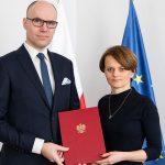 Michał Szaniawski otrzymuje nominację na p.o. Polskiej Agencji Kosmicznej / Credits - PAK