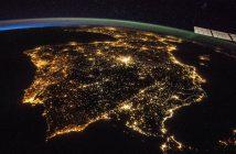 Spojrzenie na Półwysep Iberyjski z pokładu ISS (zdjęcie z 2017 roku) / Credits - NASA