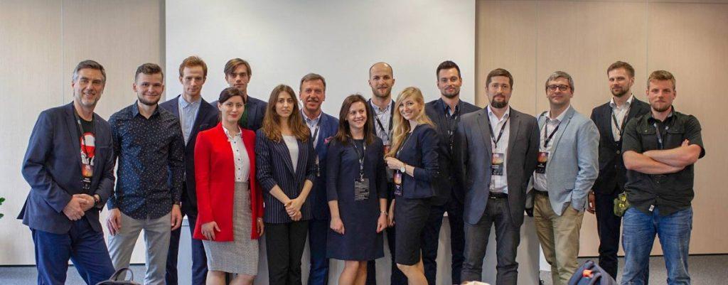 Uczestnicy prezentacji spółek w ramach BalticSatApps na European Space Tech Transfer Forum 2019 / Credits - KPT