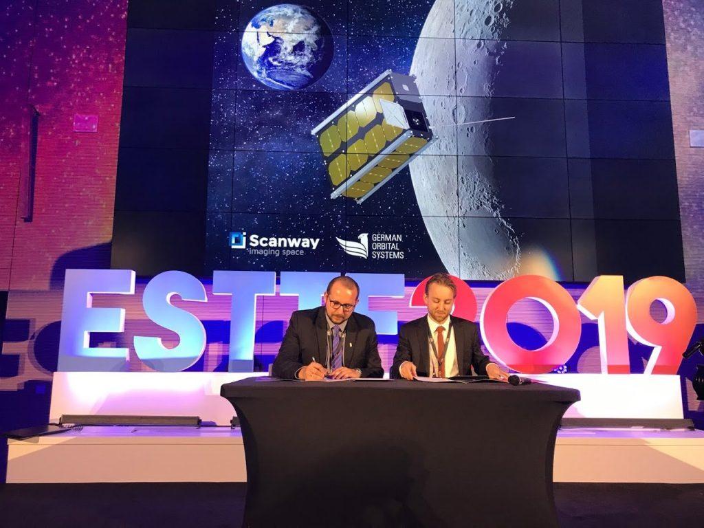 Podpisanie listu intencyjnego pomiędzy Scanway a German Orbital Systems / Credits - Scanway