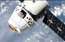Kapsuła Dragon zbliża się do ISS / Credits - NASA TV