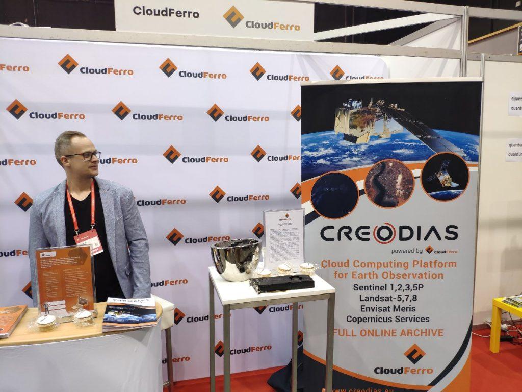 Stanowisko CloudFerro na InfoShare 2019 / Credits - kosmonauta.net