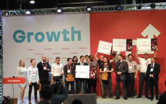 Uczestnicy Space3ac Poland Prize na konferencji Infoshare 2019 / Credits - kosmonauta.net