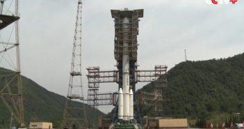 Przygotowania do startu CZ-3C z Beidou-2G8 / Credits - CCTV