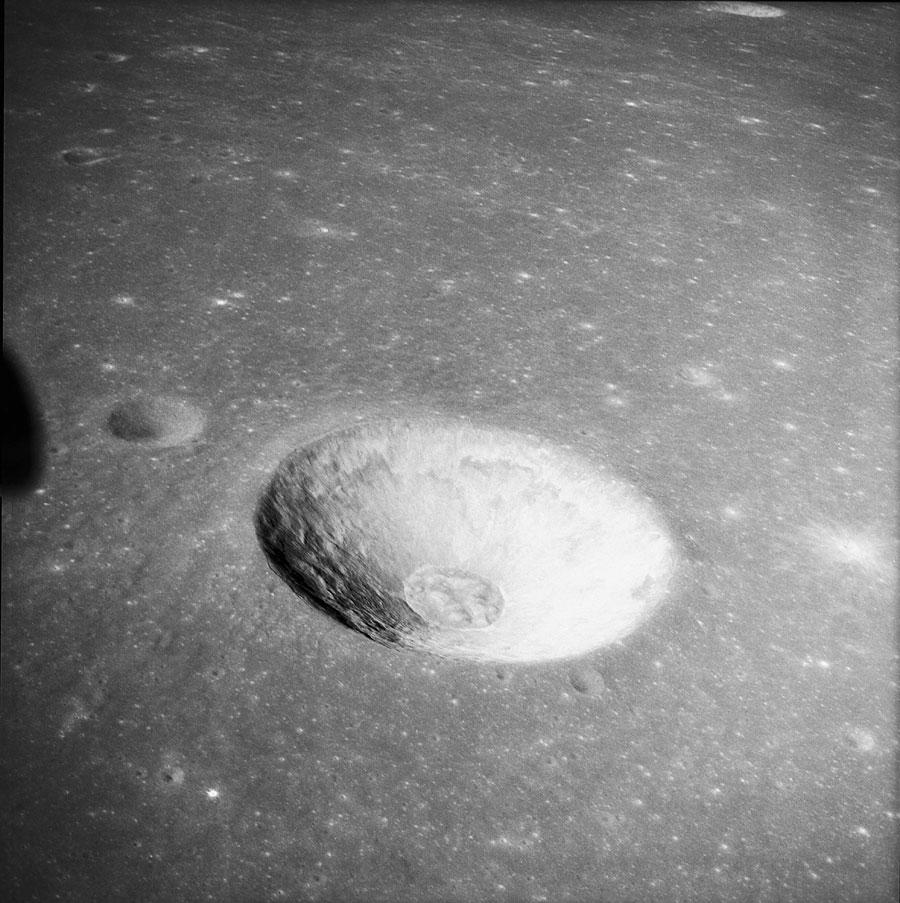 Jedno ze zdjęć Księżyca wykonane podczas misji Apollo 10 / Credits - NASA
