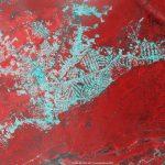 Region miasta Rio Branco w Brazylii - kolorem szarym zaznaczono miejsca, skąd wykarczowano lasy - zdjęcie z sierpnia 2016 (satelita Proba V) / Credits - ESA-BELSPO 2017, produced by VITO
