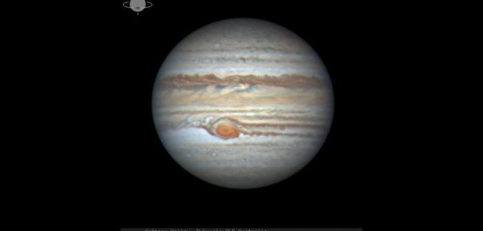 Widok WCP w dniu 22 maja 2019 / Credits - astronom amator Anthony Wesley z Australii