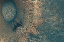 Spojrzenie na Meridiani Planum z danych MRO / Credits - NASA / JPL / University of Arizona / Seán Doran
