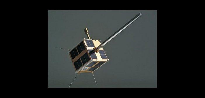 Grafika prezentująca satelitę SAT-AIS-PL / Credits - Creotech Instruments