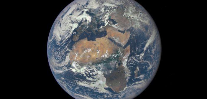 Spojrzenie na Afrykę z pokładu sondy DSCOVR / Credits - NASA
