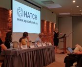 HATCH shares its experience at an international space event in Lithuania
