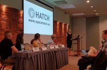 Linda Kimeiša from WIT Berry presents HATCH project / Credits - WIT Berry