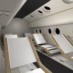 Projekt kabiny pojazdu suborbitalnego zespołu Innspace / Credits - Innspace