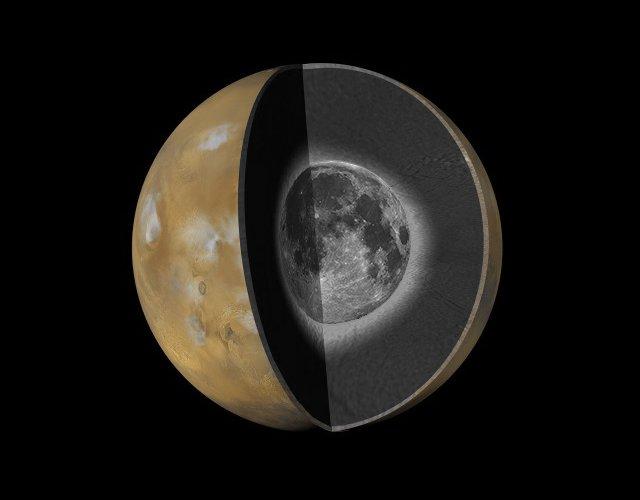 Jeden z żartów, jaki się pojawił w internecie po tweecie Donalda Trumpa - Księżyc jako część Marsa