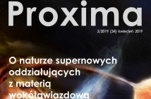 Okładka biuletynu PROXIMA 2/2019 / Credits - PROXIMA