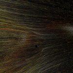 Interakcja wiatru słonecznego z otoczeniem Ziemi / Credits - NASA