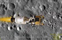Wejście na orbitę ksieżycową - misja Apollo 11 / Credits - Analytical Graphics, Inc.