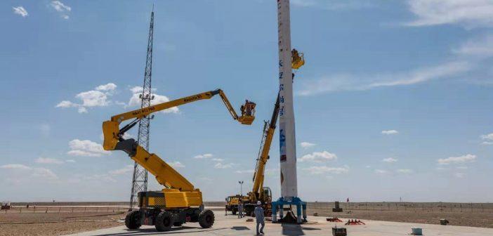 Rakieta Hyperbola-1 wymaga jedynie minimalnej infrastruktury do przeprowadzenia startu / Credits - ixiaohuojian/Xing Qiang