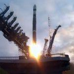 Start Sojuza-2.1v z Plesiecka - 10.07.2019 / Credits - RoskosmosqStart Sojuza-2.1v z Plesiecka - 10.07.2019 / Credits - Roskosmos