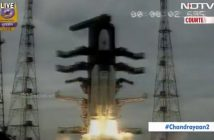 Start misji Chandrayaan-2 - 22.07.2019 / Credits - NDTV