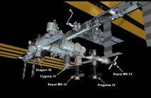 Wygląd Stacji po dotarciu kapsuły Dragon w misji CRS-18 / Credits - NASA