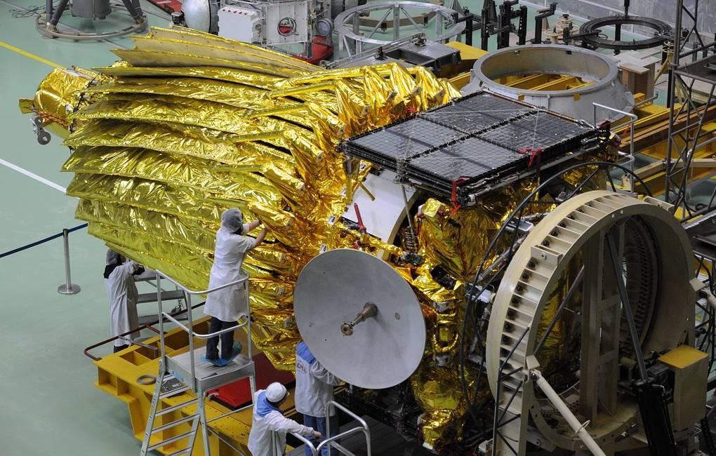 Spektr-RG przed integracją z rakietą Proton-M / Credits- Roskosmos