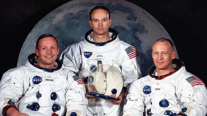 Załoga misji Apollo 11 / Credits - NAS
