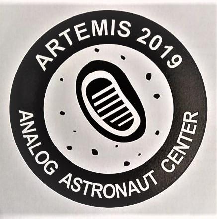 Logo symulacji misji księżycowej