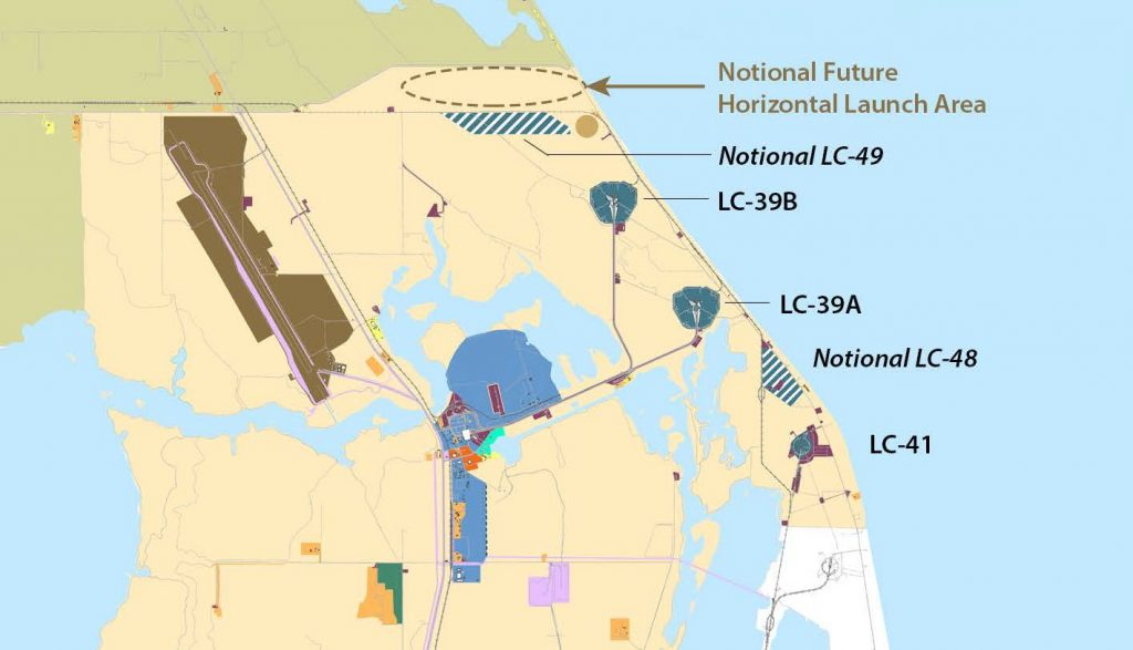 Stanowisko LC-48 na terenach Kennedy Space Center / Credits - NASA