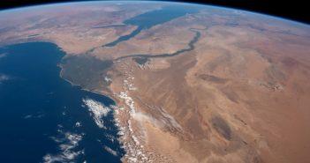 Spojrzenie na rzekę Nil z orbity / Credits - NASA