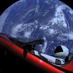 Tesla Roadster i Starman rozpoczynają swoją podróż po Układzie Słonecznym - pierwszy start Falcona Heavy / Credits - SpaceX
