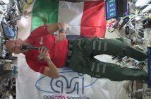 Luca Parmitano na pokładzie ISS / Credits - ESA