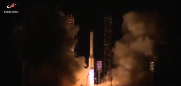 Start rakiety Proton-M z satelitą Błagowiest (05.08.2019)/ Credits - Roskosmos