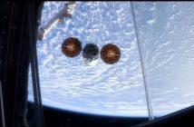 Pojazd Cygnus NG-11 opuszcza ISS / Credits - NASA TV