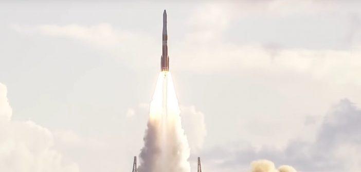 Ostatni start rakiety Delta-4M+ (22.08.2019) / Credits - ULA