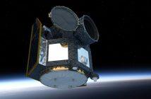 Satelita CHEOPS na orbicie / Credits - ESA/ATG medialab