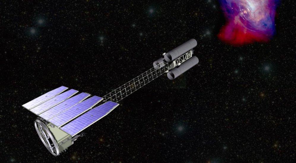 Wizja satelity IXPE / Credits - NASA