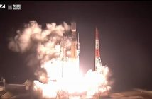 Start H-2B z pojazdem HTV-8 / Credits - JAXA, NASA TV