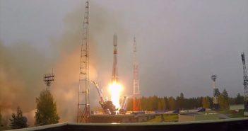 Sojuz 2 wynosi satelitę Tundra / Credits - Roskosmos